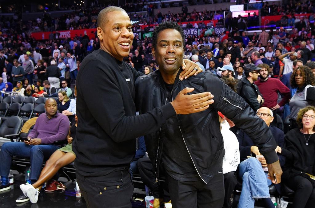 Jay Z & Chris Rock