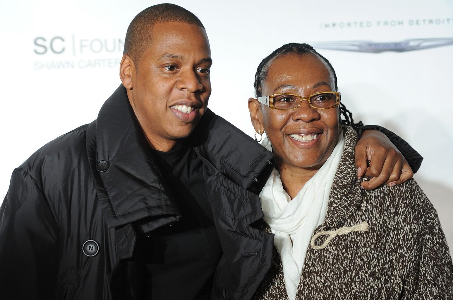 Jay-Z & Gloria Carter, 2011