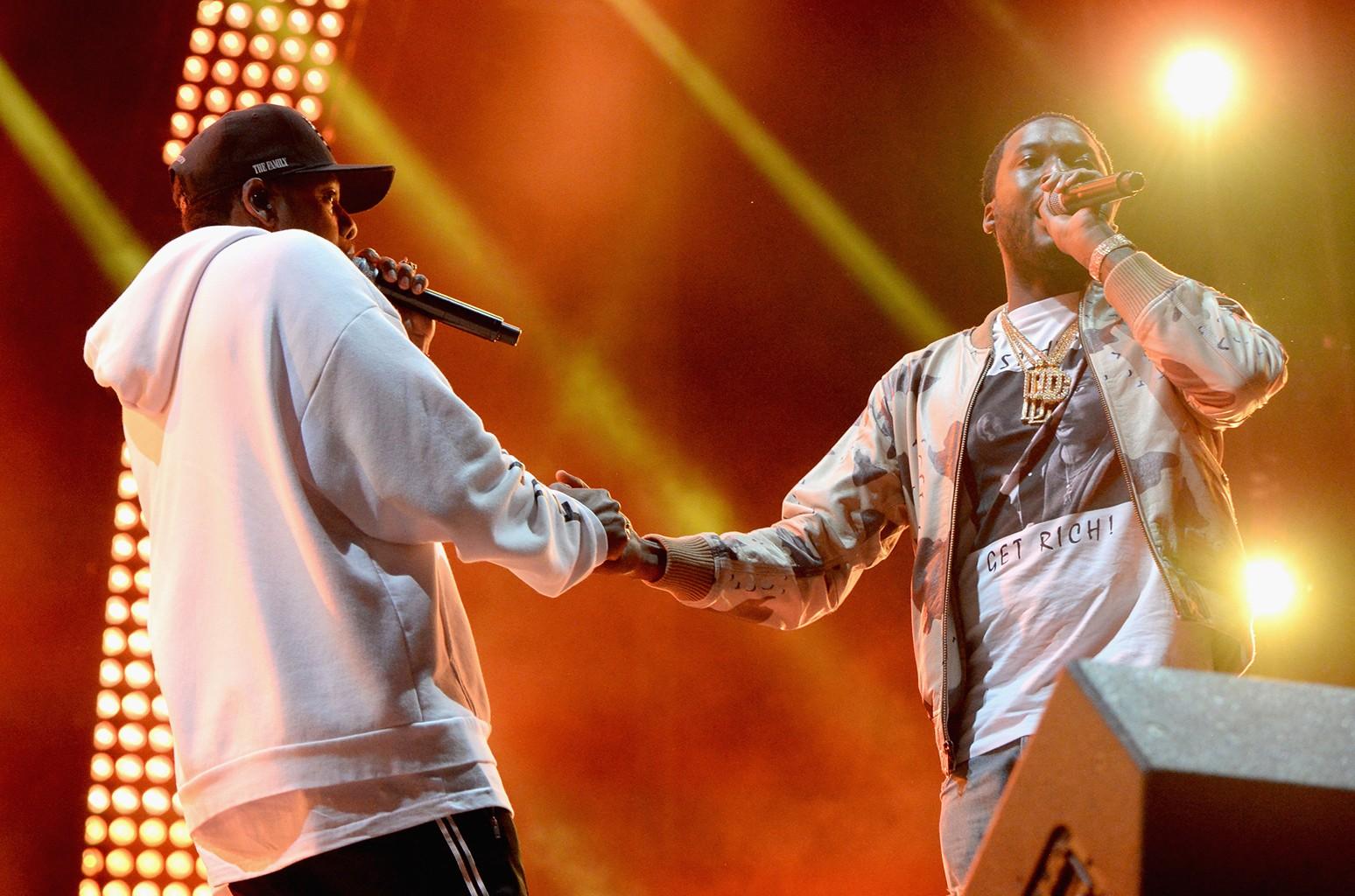 Jay Z & Meek Mill, 2017