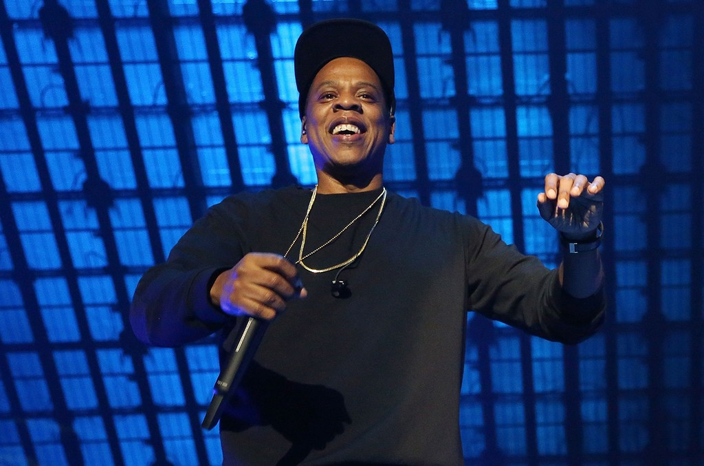 Jay Z performs during Tidal X