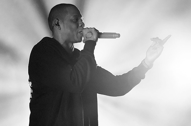 Jay-Z performs onstage at the 2014 Global Citizen Festival
