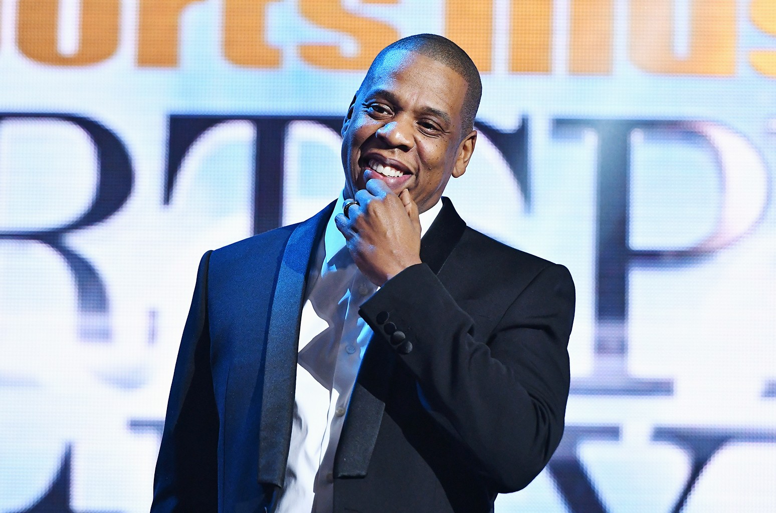 Jay Z speaks onstage during the Sports Illustrated Sportsperson of the Year Ceremony 2016 at Barclays Center of Brooklyn on Dec. 12, 2016 in New York City.