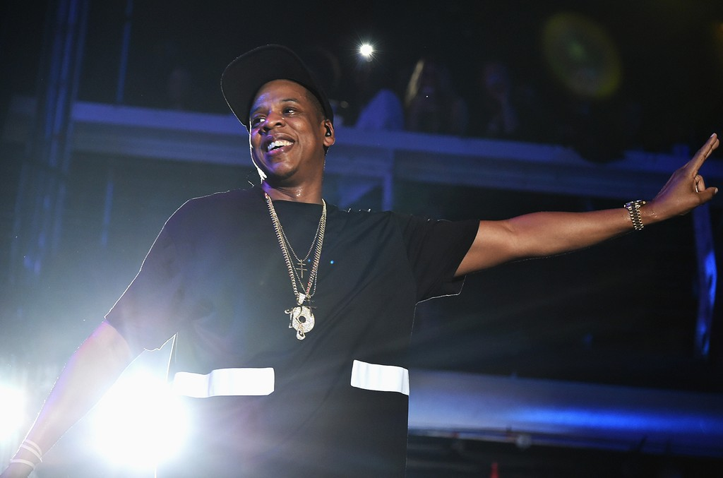 Jay Z performs in New York City