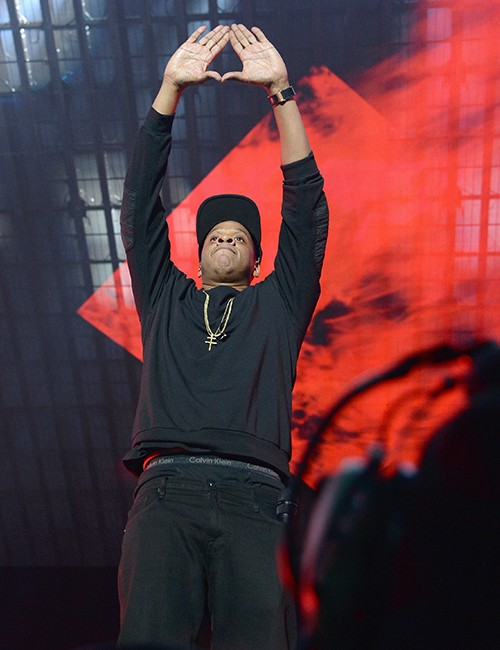 Jay Z performs onstage during TIDAL X: 1020 Amplified by HTC