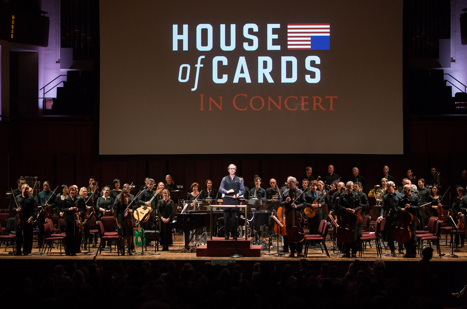 Jeff Beal performs the House of Cards soundtrack
