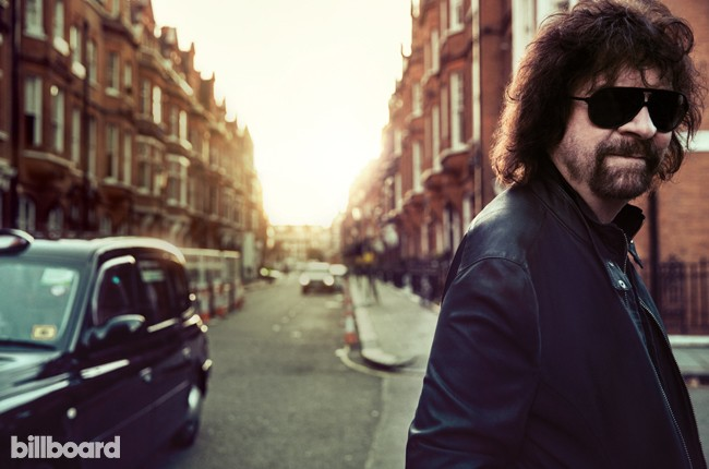 Jeff Lynne photographed on Oct. 28, 2015 at The Draycott in London.
