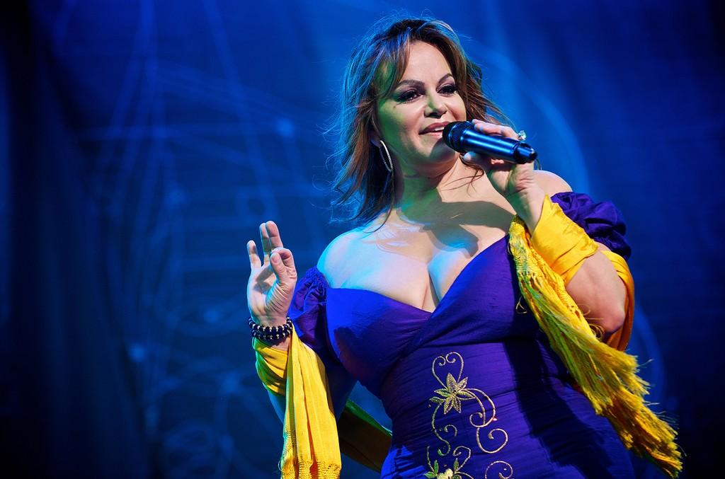 Jenni Rivera performs at Lilith 2010 at Verizon Wireless Amphitheater