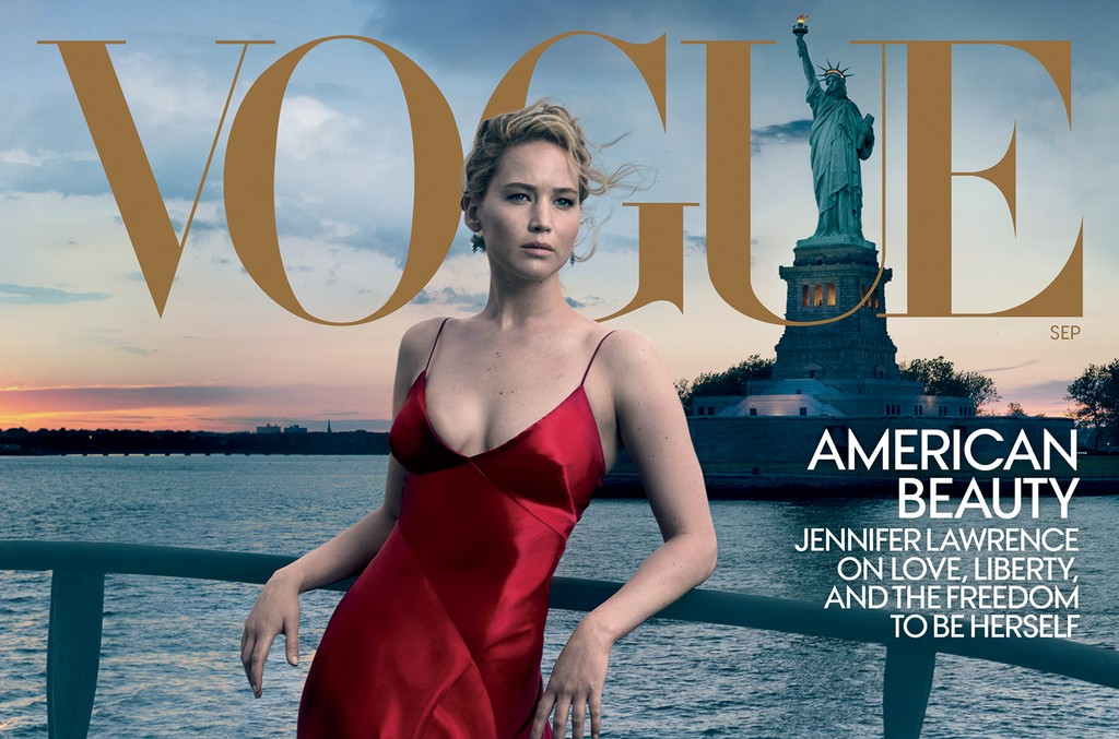 Jennifer Lawrence Vogue, 2017