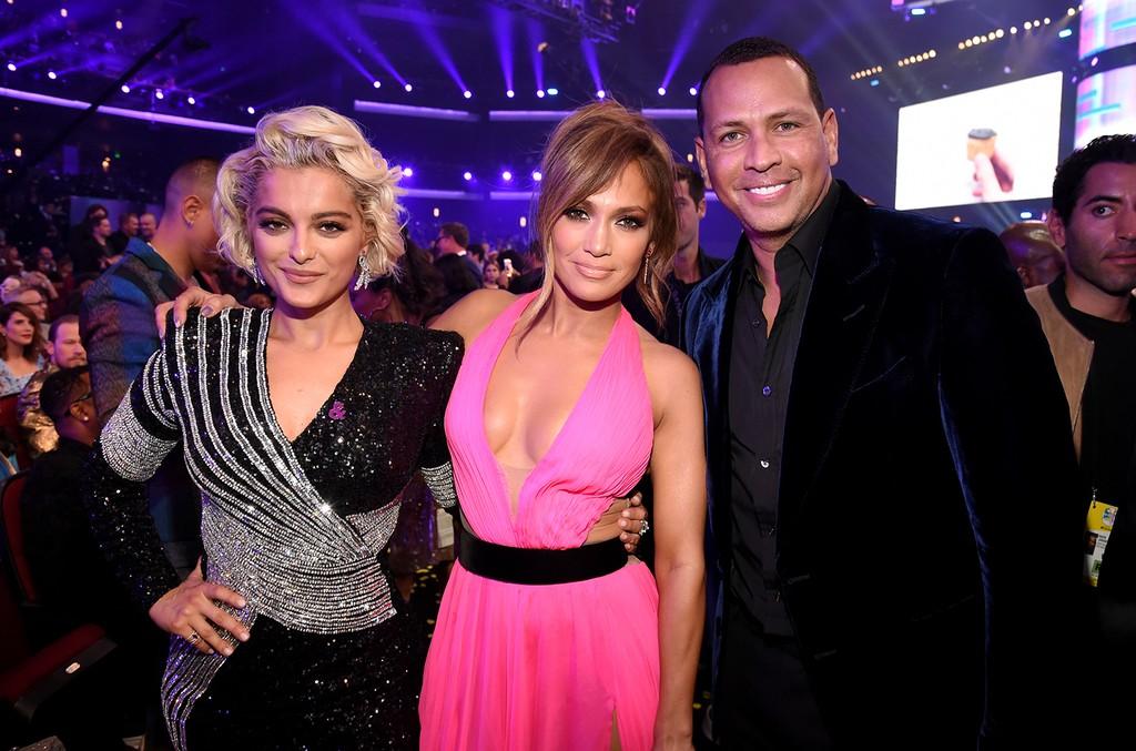 Jennifer Lopez Bebe Rexha Alex Rodriguez