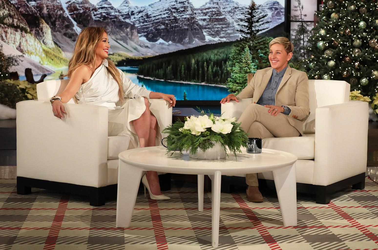 Jennifer Lopez Ellen DeGeneres
