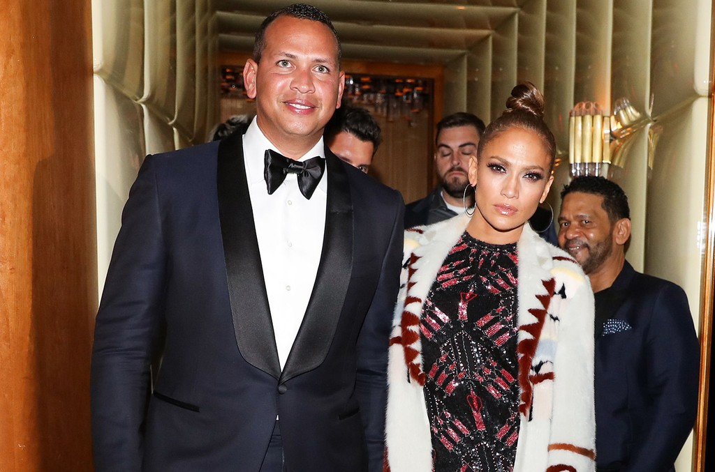 Alex Rodriguez and Jennifer Lopez attend the Boom Boom after party hosted by Katy Perry during The Costume Institute Benefit on May 2, 2017 in New York City.