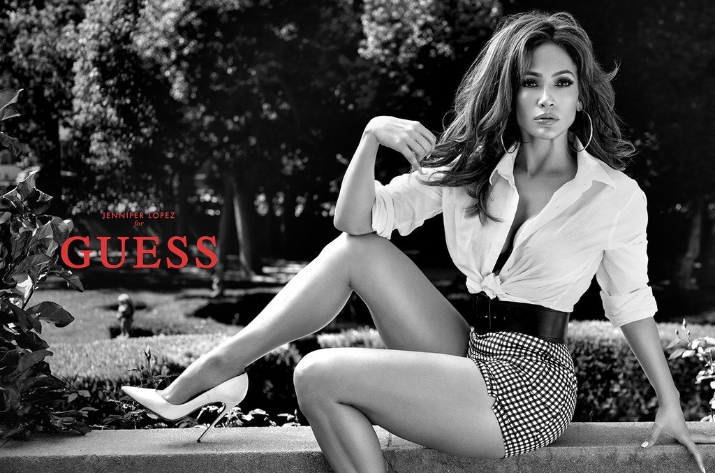 JENNIFER LOPEZ STARS IN GUESS' SPRING 2018 CAMPAIGN