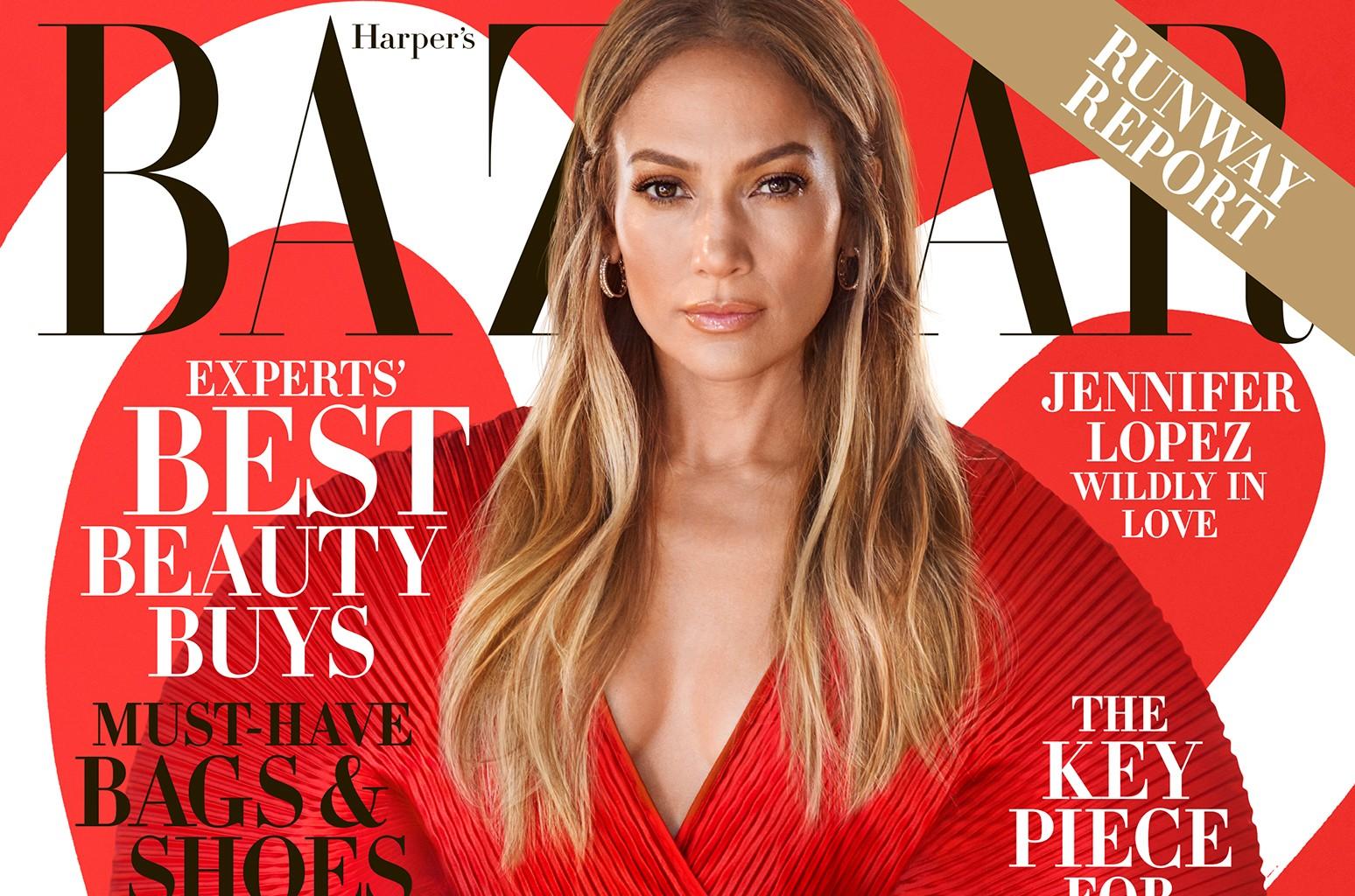 Jennifer Lopez Harpers Bazaar