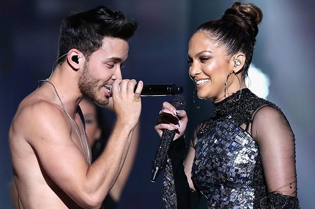 Prince Royce and Jennifer Lopez