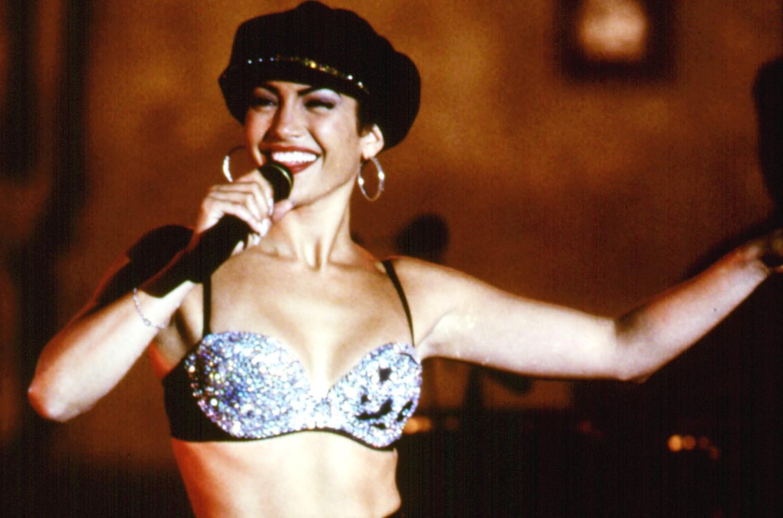 Jennifer Lopez in Selena.