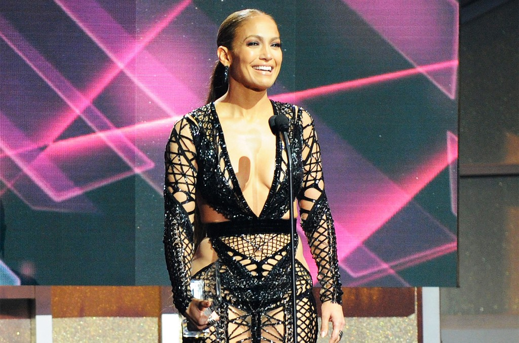 Jennifer Lopez accepts an award onstage at the Billboard Latin Music Awards at Watsco Center on April 27, 2017 in Coral Gables, Fla.