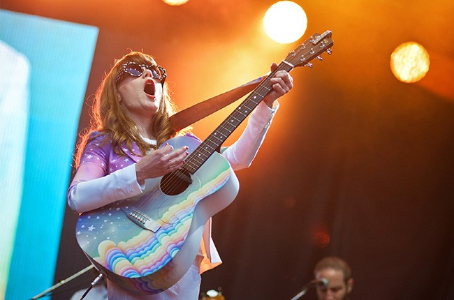 Jenny Lewis at Lollapalooza 2014