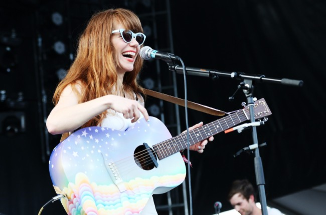 Jenny Lewis at Governors Ball