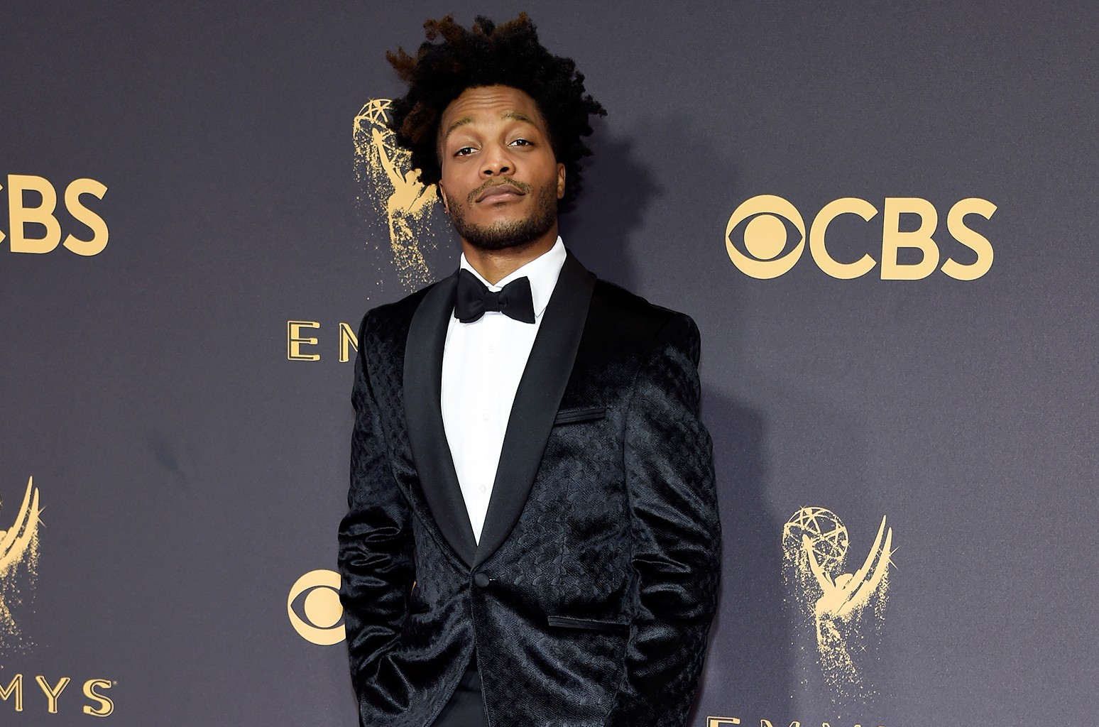 Jermaine Fowler attends the 69th Annual Primetime Emmy Awards
