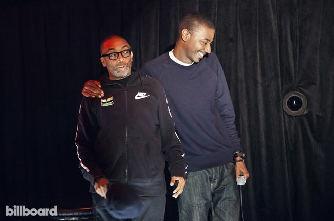 Jerred Carmichael and Spike Lee
