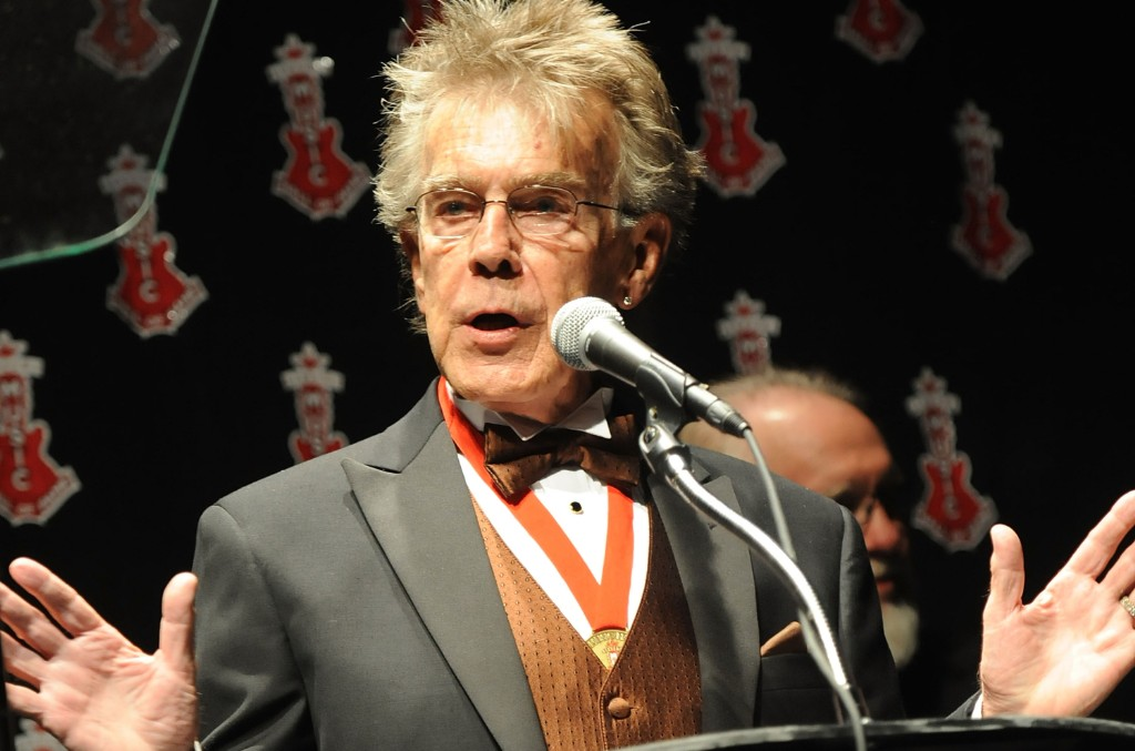 Jerry Carrigan speaks at the Alabama Music Hall of Fame's 13th Induction Banquet and Awards Show at the Renaissance Hotel on March 25, 2010 in Montgomery, Alabama.