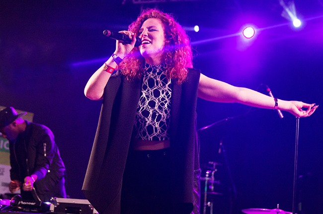 Jess Glynne performs at Stubbs at sxsw 2015