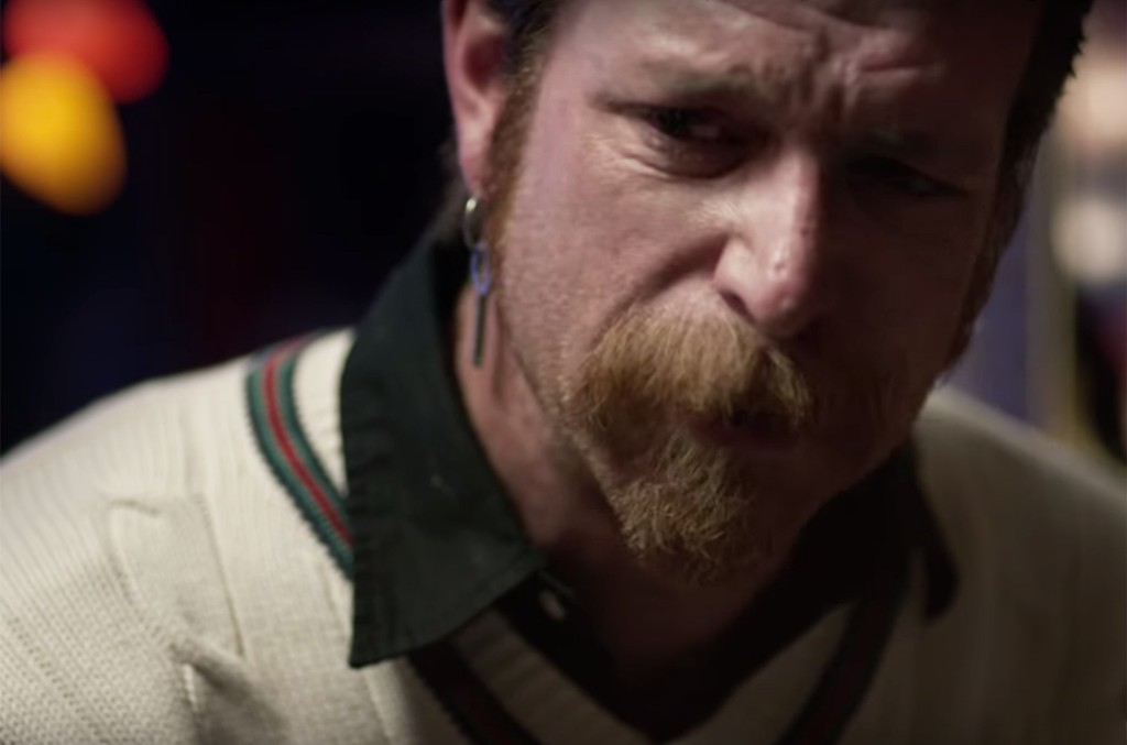 Jesse Hughes in the trailer for Eagles of Death Metal: Nos Amis