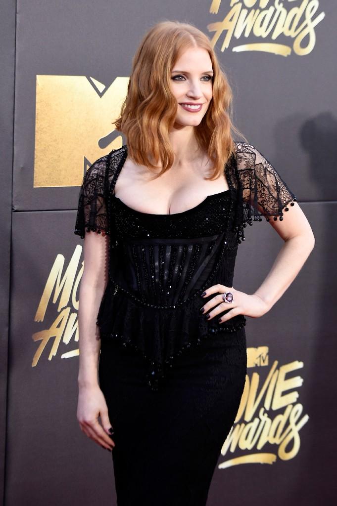 Jessica Chastain 2016 mtv movie awards