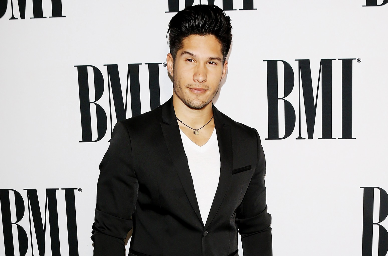 Jesus Alberto Miranda Perez of Chino y Nacho arrives at the 23rd Annual BMI Latin Awards held at the Beverly Wilshire Four Seasons Hotel on March 2, 2016 in Beverly Hills, Calif.
