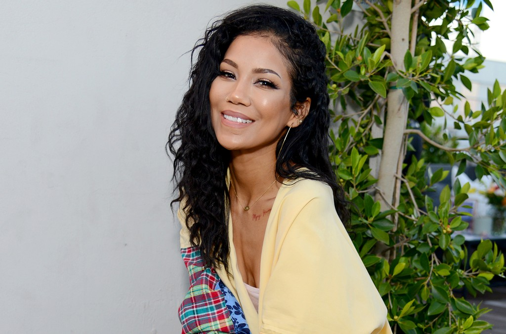 Jhene Aiko at the launch of the 2017 Teva x Jhene Aiko Collection at NeueHouse Los Angeles on May 1, 2017 in Hollywood, Calif.