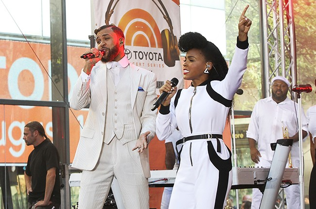 """Jidenna and Janelle Monae Perform On NBC's """"Today"""""""