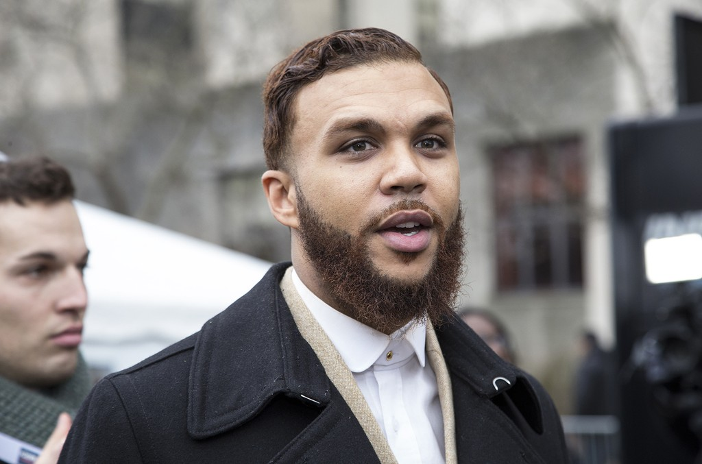 Jidenna attends the rally at the Women's March on Washington on January 21, 2017 in Washington, DC. (Photo by Brian Stukes/WireImage)