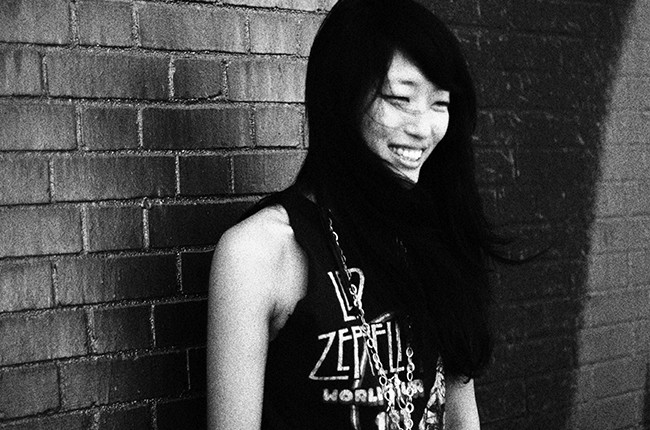 JiHAE photographed in 2015.
