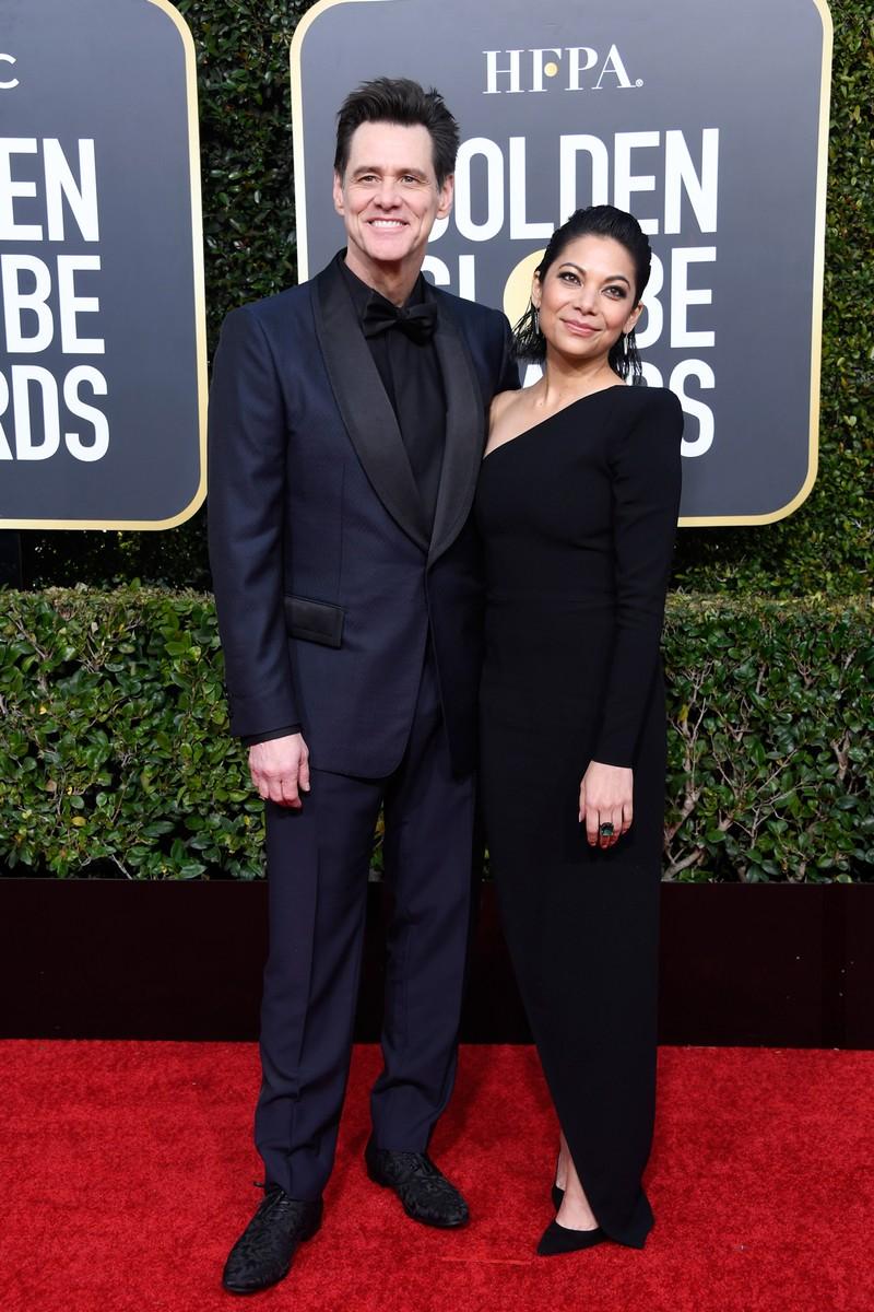 Jim Carrey and Ginger Gonzaga