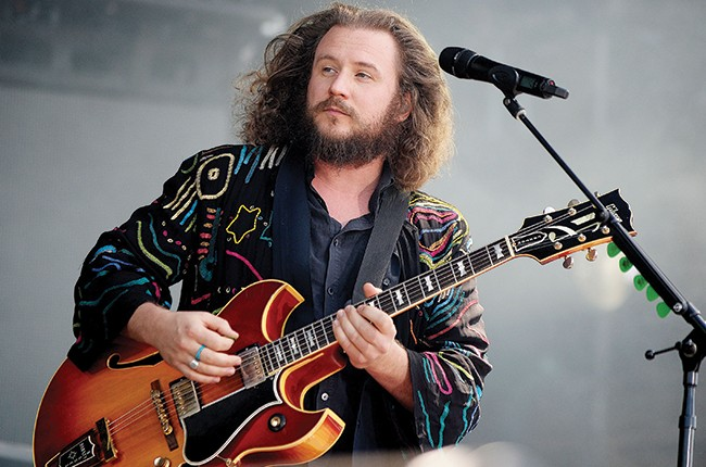 Jim James of My Morning Jacket performs during Global Citizen 2015 Earth Day