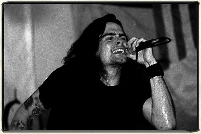 Jim Leatherman henry rollins 1986