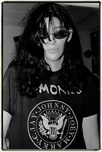 Jim Leatherman joey ramone 1990