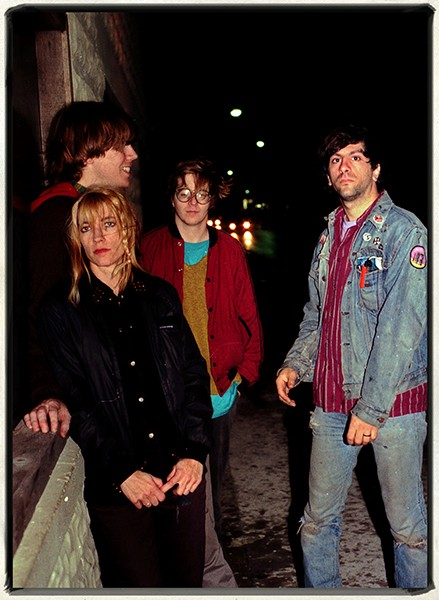 Jim Leatherman sonic youth 1986