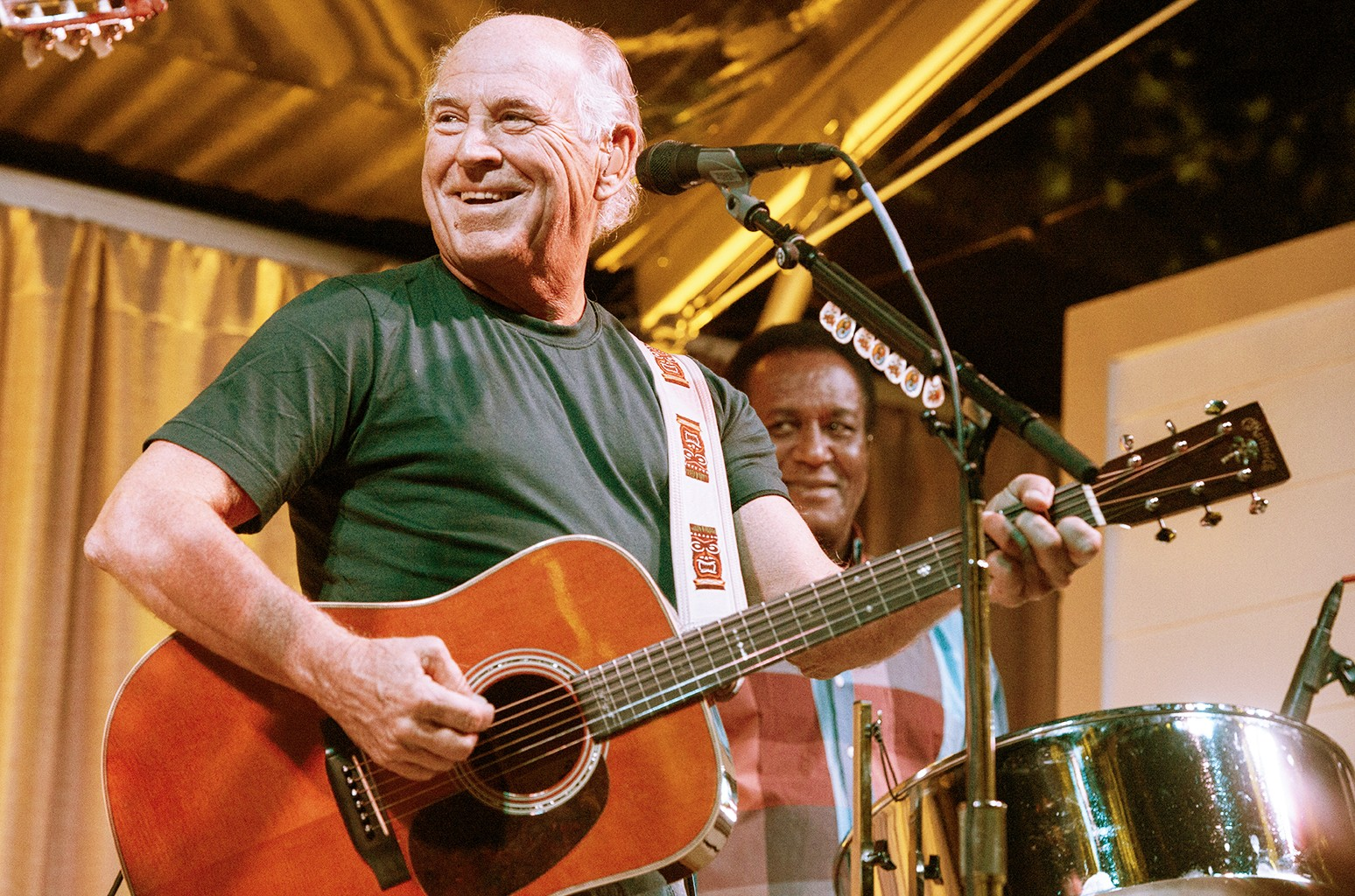 Jimmy Buffett performs in 2016