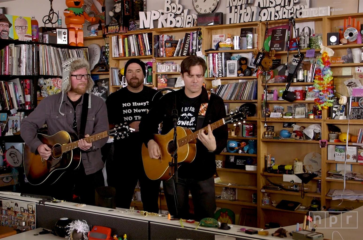 Jimmy Eat World perform on NPR's Tiny Desk Concert