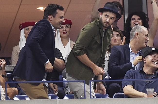 Jimmy Fallon and Justin Timberlake 2015