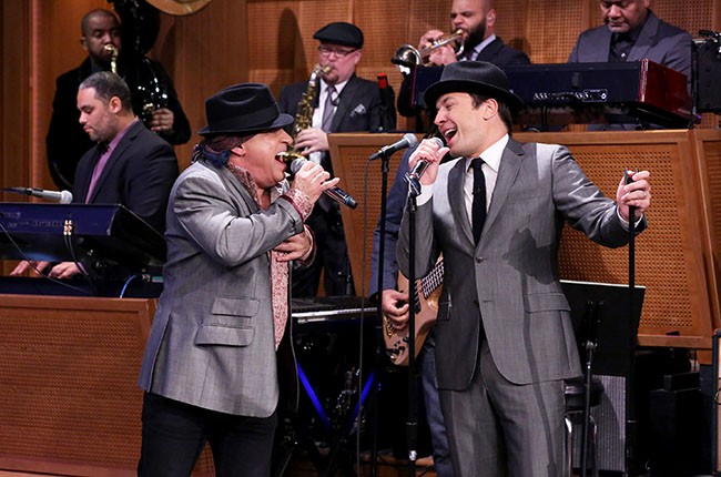 Jimmy Fallon and Steve Van Zandt
