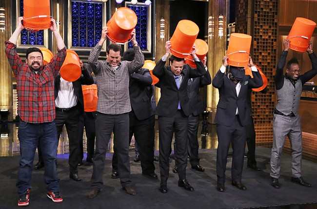 """Ice Bucket Challenge"" on the Tonight Show"