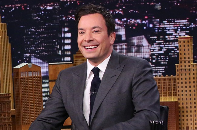 Jimmy Fallon on The Tonight Show Starring Jimmy Fallon on March 18, 2015.