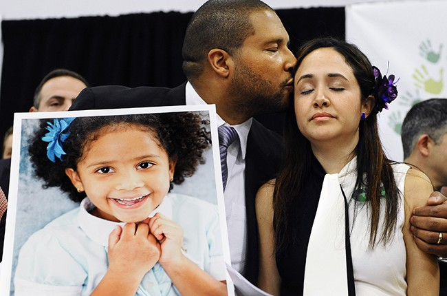 Jimmy Greene, father of Sandy Hook Elementary School shooting victim Ana Marquez-Greene