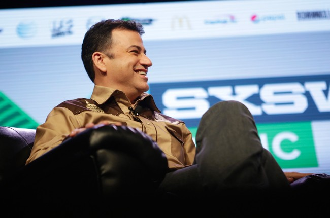 A Conversation With Jimmy Kimmel' during the 2015 SXSW