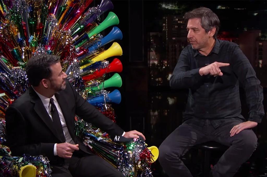 Jimmy Kimmel and Ray Romano