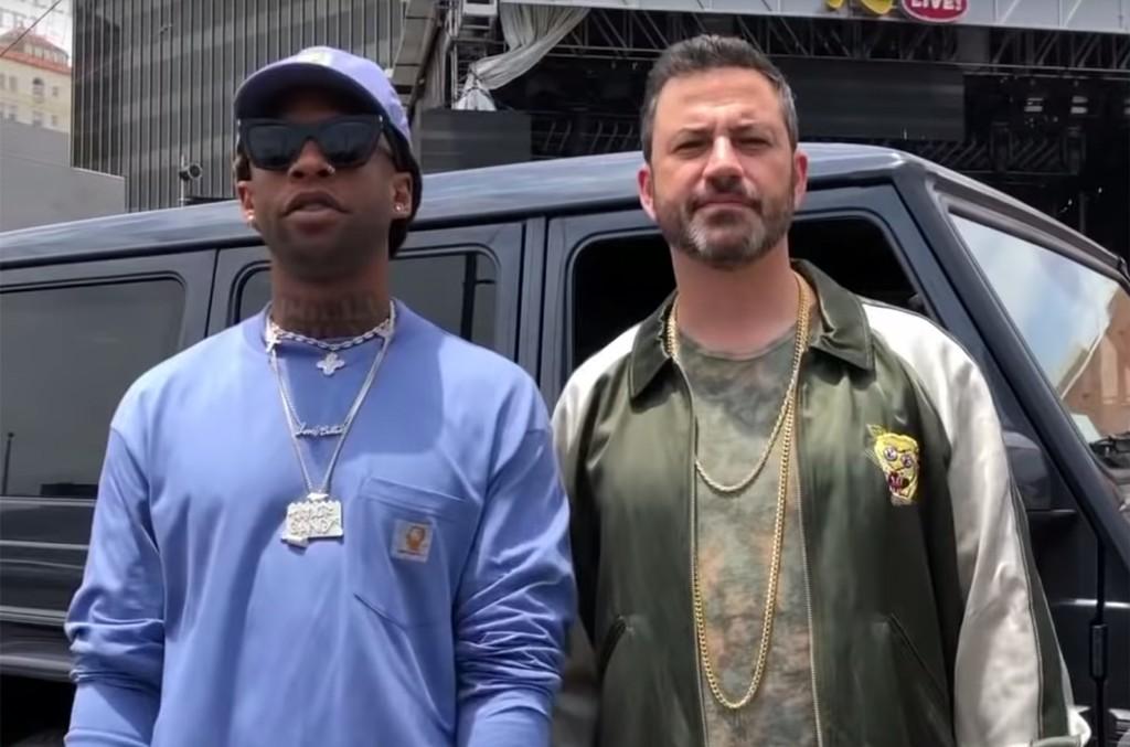 Jimmy Kimmel Ty Dolla Sign