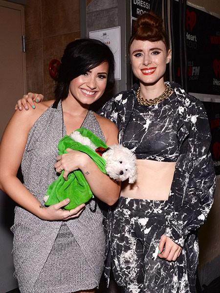 Demi Lovato and Kiesza