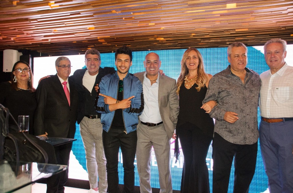 Miguelina Estévez, Nelson Estévez, Alejandro Aguirre, Fontana, Humberto Carrera, Mariolga Villasana, Juan Hidalgo, Ángel Carrasco